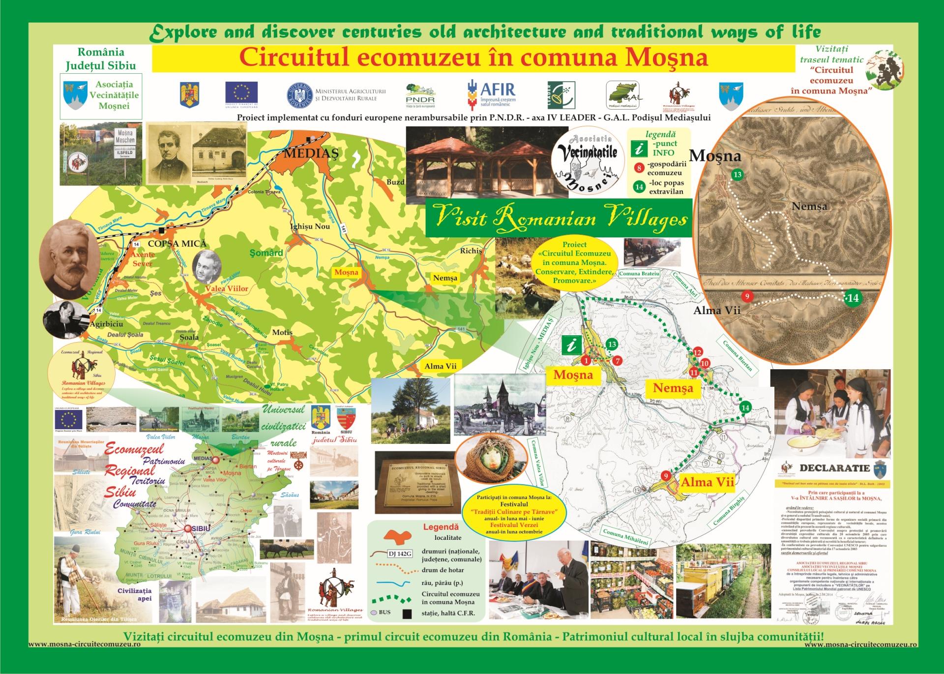 Harta zona Mosna Nemsa Alma 2